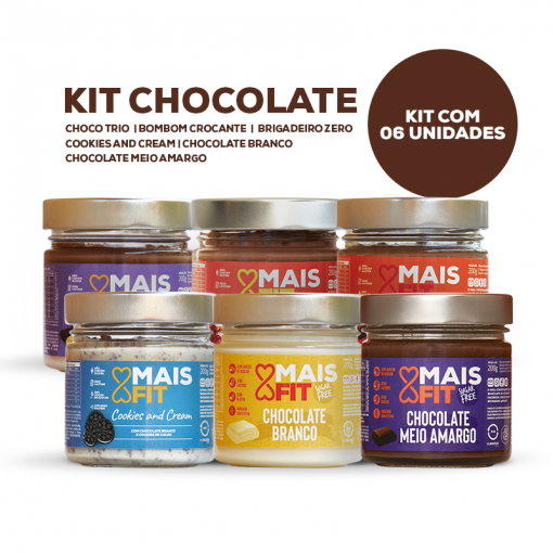 Kit Chocolate - 06 doces