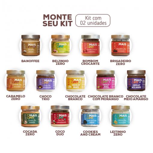 MONTE SEU KIT - 02 doces